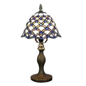 D20cm Bezaubernde Tischlampe Tiffany Stil 1-flammig im Schlafzimmer