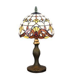 Wunderschöne Tischlampe Tiffany Stil D20cm 1-flammig im Schlafzimmer
