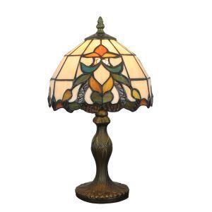 D20cm Elegante Tischlampe Tiffany Stil 1-flammig im Esszimmer