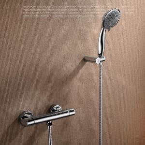 Moderne Duscharmatur Einhand mit Handbrause Wandmontage