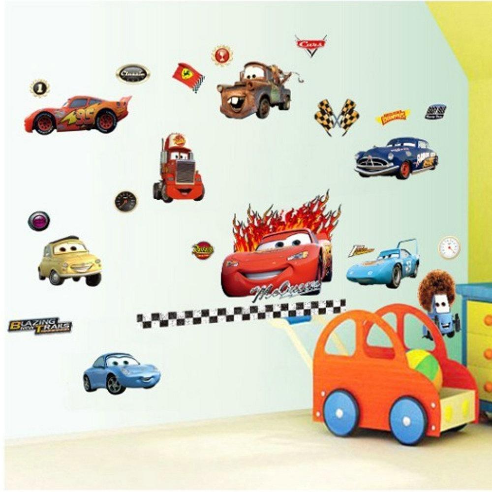 3d wandtattoo disney cars pvc fototapete - Wandtattoo cars ...