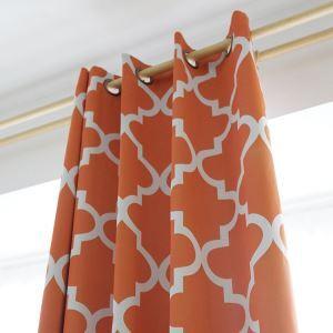 Vorhang Raute Design aus Polyester