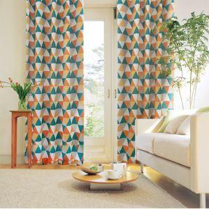 Moderner Vorhang Dreieck Design aus Polyester