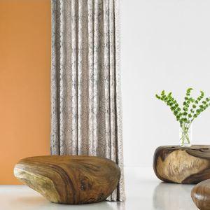 Moderner Vorhang Seestern Geprägt aus Polyester