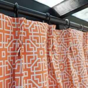 Klassischer Vorhang aus Polyester im Esszimmer