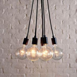 (EU Lager)60W E27 minimalistische Pendelleuchte mit 7 Lampen