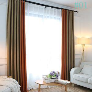 Moderner Vorhang aus Polyester im Wohnzimmer