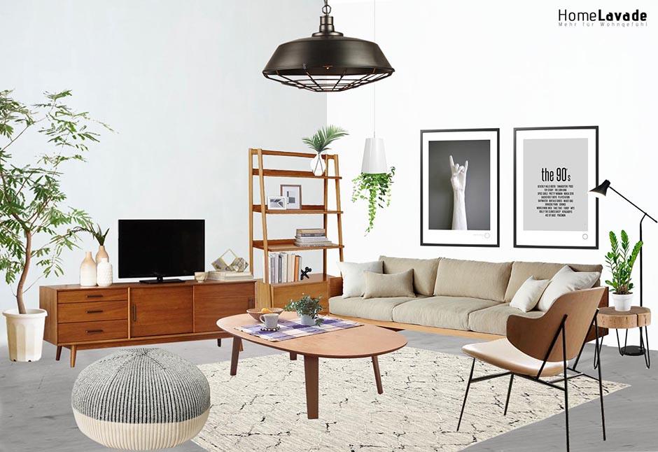 Mitte Des Jahrhunderts Wohnzimmer