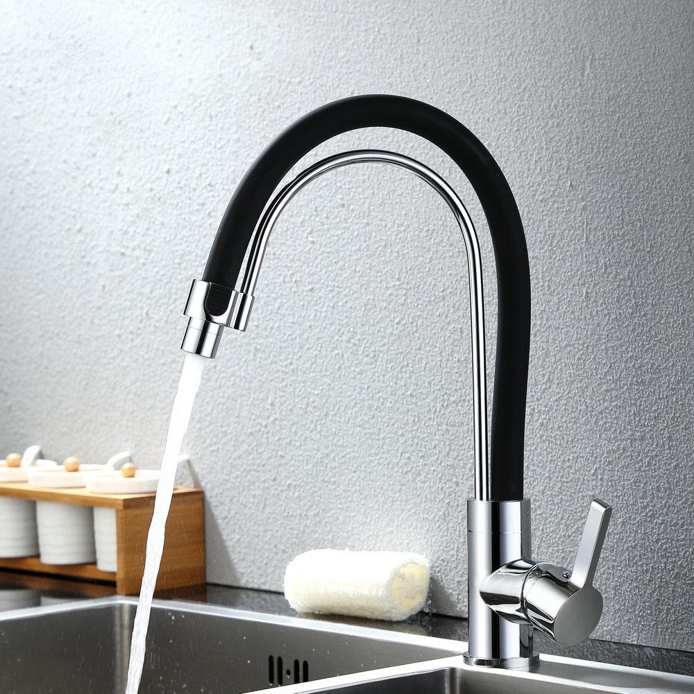 Einhebel Küchenarmatur Modern für Kalt- und Warmwasser