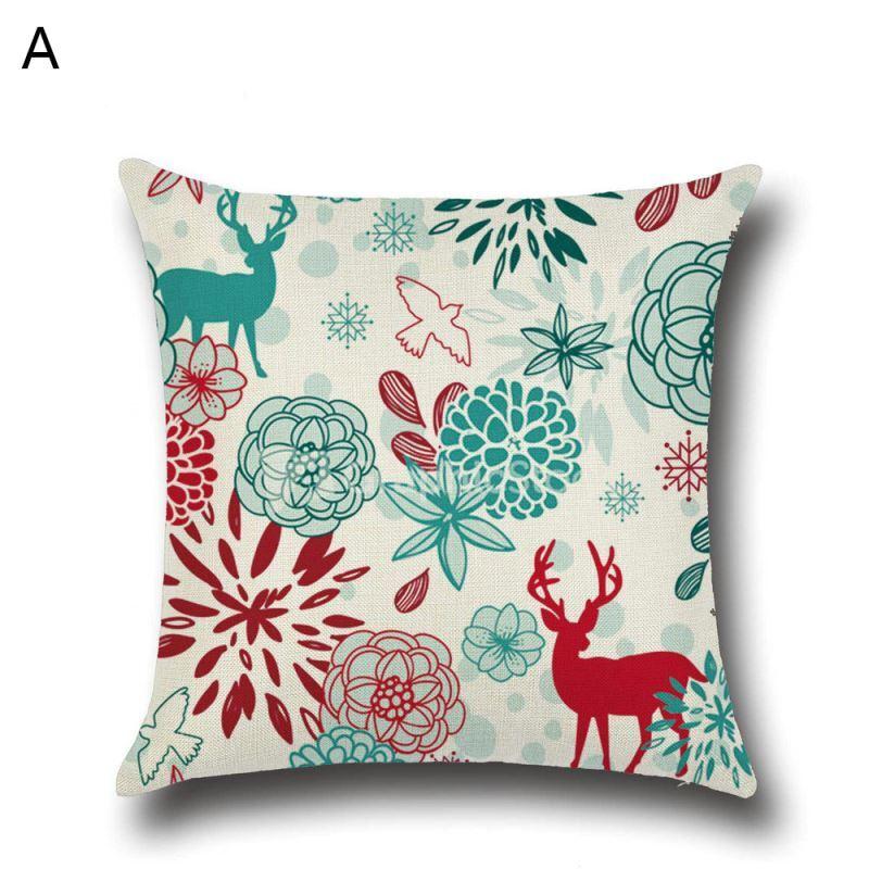 Weihnachten kissenh lle weihnachtshirsch design for Weihnachtshirsch deko