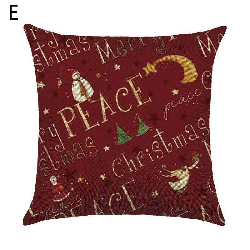 dekokissenbezug weihnachten weinachtsgeschenk. Black Bedroom Furniture Sets. Home Design Ideas