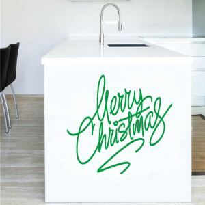 PVC Wandtattoo Merry Christmas Design