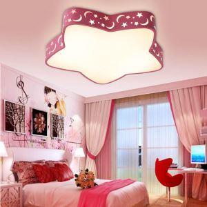 Led Deckenlampe Modern Stern Design im Kinderzimmer