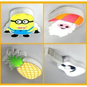 Led Deckenleuchte Cartoon Design im Kinderzimmer
