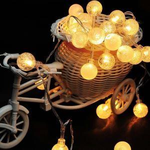 40er Lichterkette Luftblase Design für Dekoration