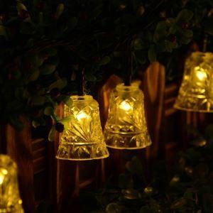 Led Lichterkette Außen Weihnachtsglocke Design