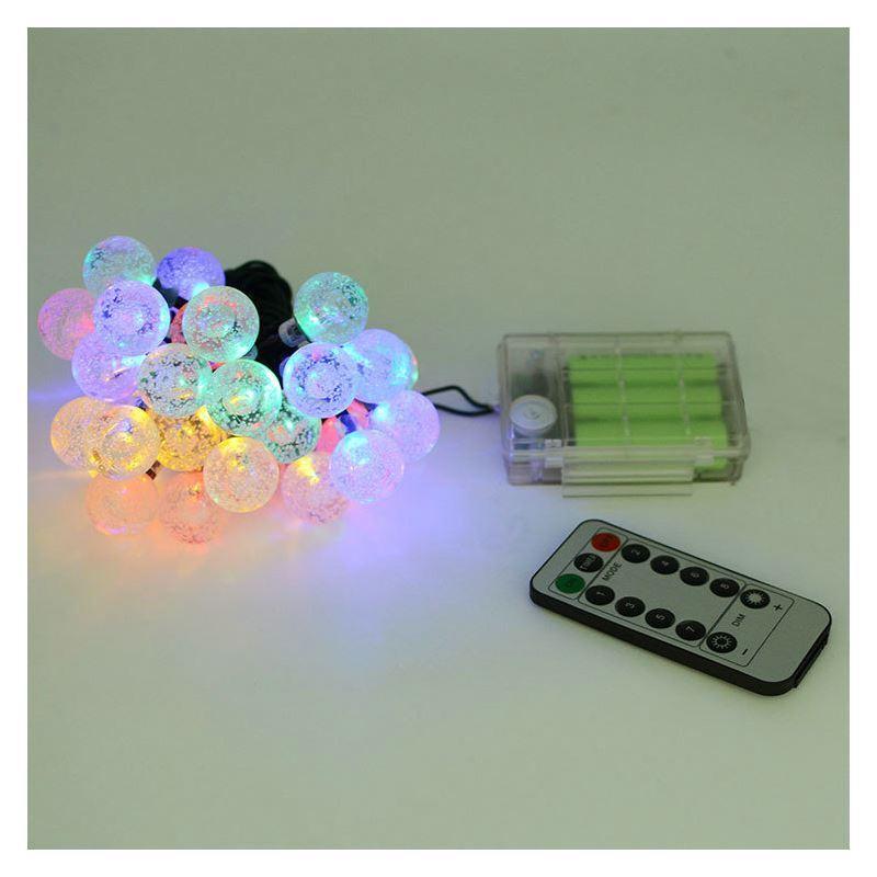 Led lichterkette bunt kugel design mit fernbedienung - Led lichterkette bunt mit fernbedienung ...
