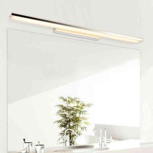 Versandkostenfrei LED Spiegelleuchte 8W Wandleuchte Modern Chrom mit Acryl Schirm auf Lager