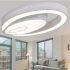 Zeige Details für (EU Lager) Versandkostenfrei LED Deckenleuchte Kaltweiß Modern Acryl Oval im Wohnzimmer