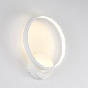 Moderne Wandleuchte Led Ring Design im Flur