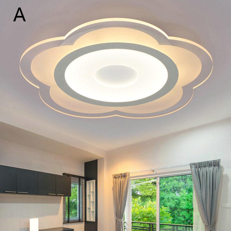 Led deckenleuchte modern blume design im wohnzimmer - Deckenleuchte wohnzimmer design ...