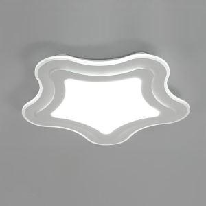 Led Deckenleuchte Modern Seestern Design im Wohnzimmer