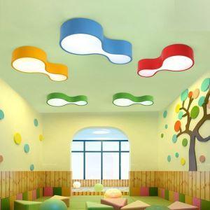Moderne Deckenleuchte Led Kalebasse Design im Kinderzimmer