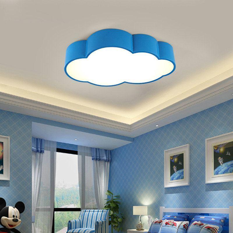 Moderne deckenleuchte led wolke design im kinderzimmer - Led deckenleuchte kinderzimmer ...