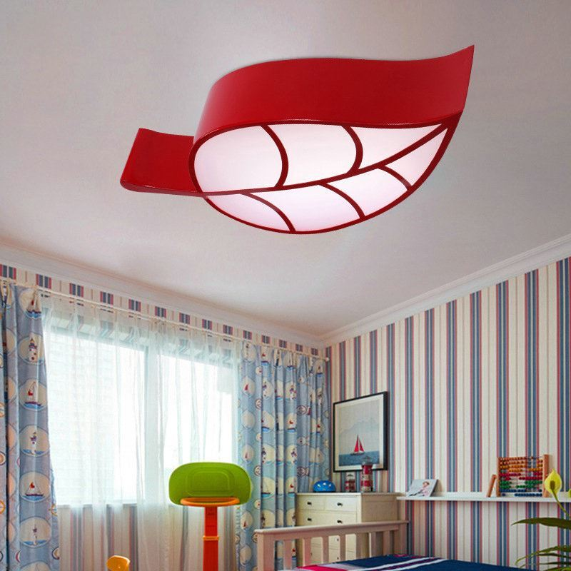 Moderne deckenleuchte led blatt design im kinderzimmer - Led deckenleuchte kinderzimmer ...