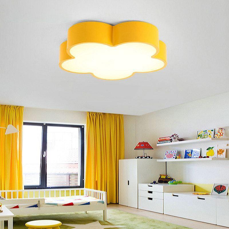 Led deckenleuchte modern blume design im kinderzimmer - Led deckenleuchte kinderzimmer ...