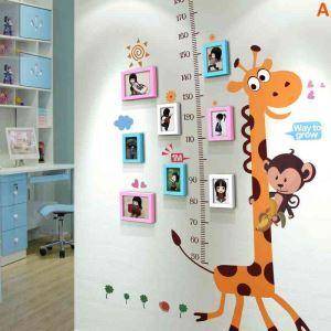 8er Bilderrahmen Set Modern Wandgalerie aus Holz