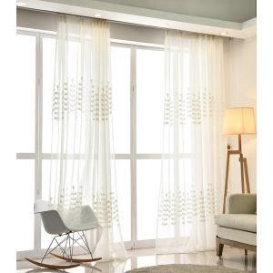 Moderne Gardine Bäumchen Design im Wohnzimmer (1er Pack)