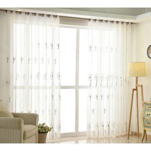 Moderne Gardine Pusteblume Design im Schlafzimmer (1er Pack)