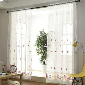 Moderne Gardine Geschenkbox&Bonbon Design im Kinderzimmer (1er Pack)