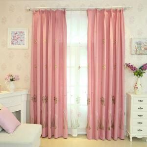 Vorhang Pusteblume&Schmetterling Design im Kinderzimmer (1er Pack)