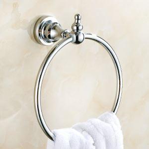 Handtuchring Bad aus Messing Chrom im Badezimmer