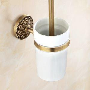 WC Bürstenhalter Antik Messing Bad-accessoires