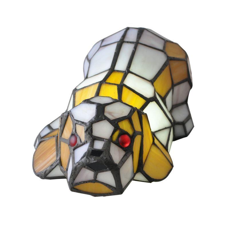 Tiffany Tischlampe Nachtlicht Hunde Design Im Schlafzimmer