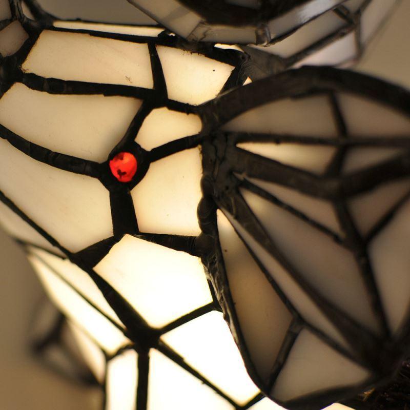 Tiffany Tischlampe Nachtlicht Elefanten Design Im Schlafzimmer