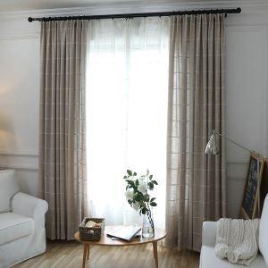 Japanisch Vorhang Raute Jacquard Design im Wohnzimmer
