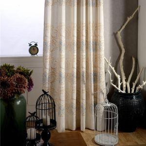 Japanisch Vorhang aus Leinen  im Wohnzimmer