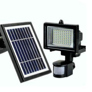 Solar Leuchte Strahler für Garten Wege
