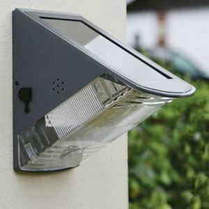 Solar  Wandleuchte Außen Sensor