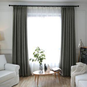 Moderner Vorhang Minimalismus Unifarbe im Schlafzimmer