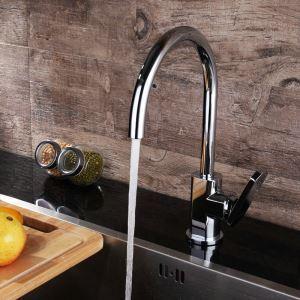 Chrom Küchenarmatur Modern Einhand
