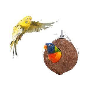 Kokosnuss Vogelnest Käfig für Papagei Hamster Eichhörnchen