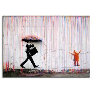 Dekorative Wandbilder ohne Rahme Graffiti für Wohnzimmer