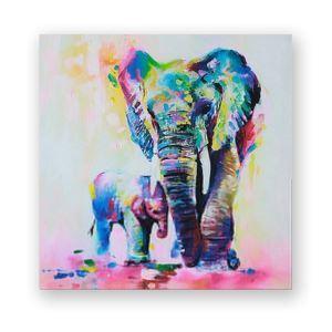 Dekorative Wandbilder ohne Rahme Minimalismus Elefant für Wohnzimmer