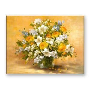 Dekorative Wandbilder ohne Rahme Blumen Vase für Wohnzimmer