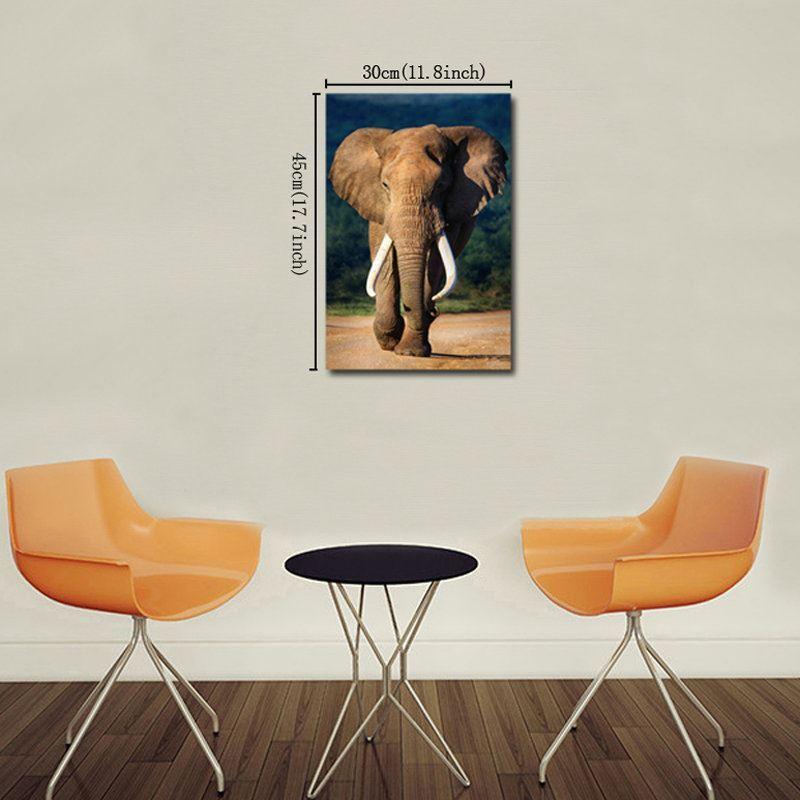 Leinwandbild Modern Elefanten Design ohne Rahme im Schlafzimmer
